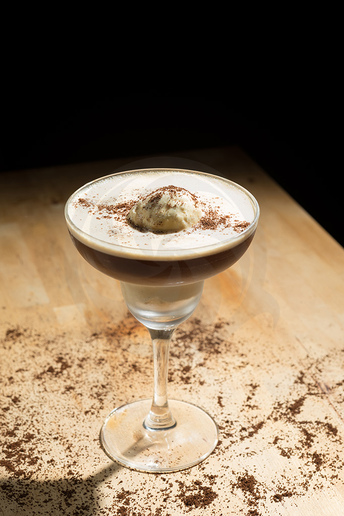 Affogato Espresso Martini - for André Martins Meridians and Paralells